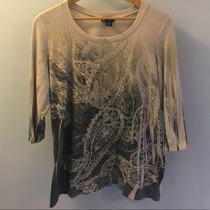 🍁Beautiful Paisley Shirt